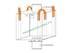 Spout top FIBC bulk bags